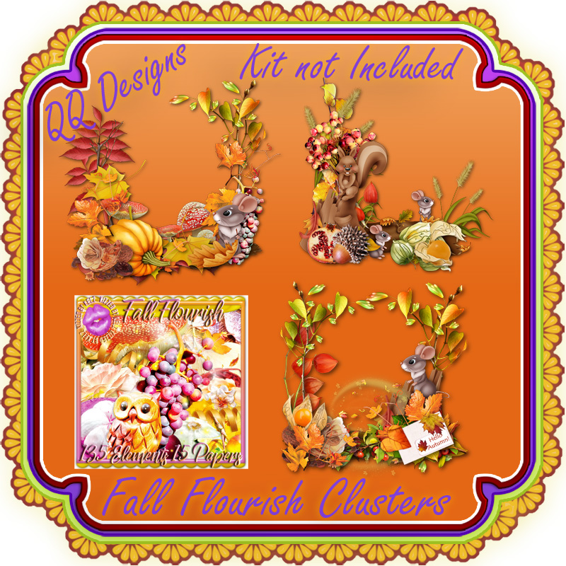 Fall Flourish Clusters