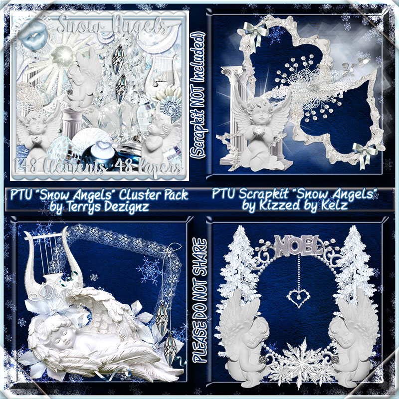 Snow Angels Cluster Pack