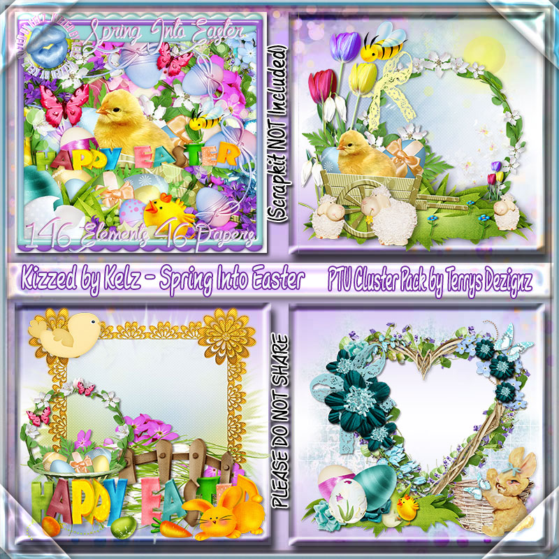 Spring Into Easter Cluster Pack